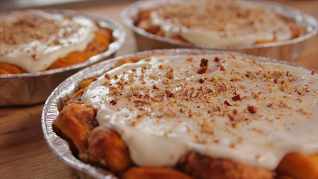 How to make a tasty pumpkin spice cinnamon rolls?